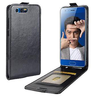 Premium Flip tilfellet svart i Huawei ære 9 ermet coveret beskyttelse tilbehør veske nye