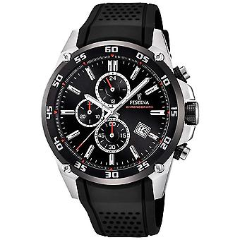 Festina Mens Originals Tour Of Britain 2017 Black F20330/5 Watch
