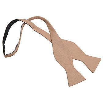 Gold Hobsack Leinen Distel selbst Krawatte Bow Tie