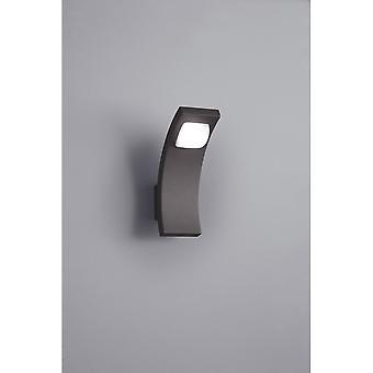 Trio verlichting Seine moderne antraciet Diecast Aluminium wand Lamp