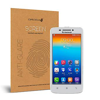 Celicious Matte Anti-Glare Screen Protector for Lenovo S650 [Pack of 2]