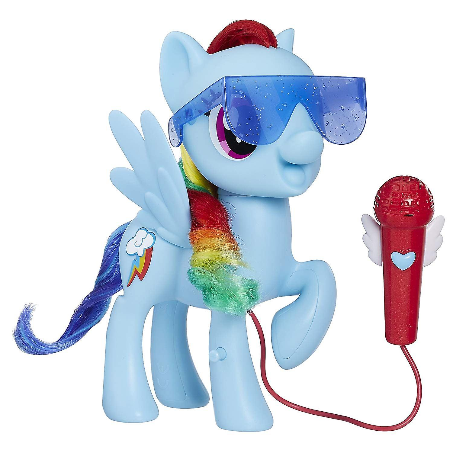 My Little Pony E1975EF1 Singing Rainbow Dash Model, Multi-Colour