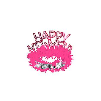 Año nuevo Regal Tiaras - colores surtidos (25)