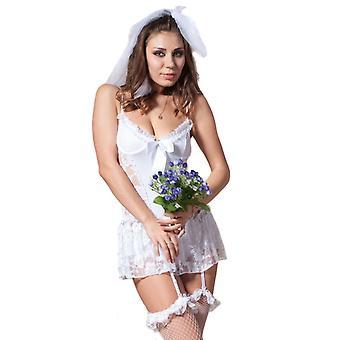 Waooh 69 - traje Sexy vestido blanco de novia