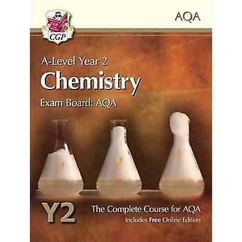 New A-Level Chemistry for AQA - Year 2 Student Book with Online Editio