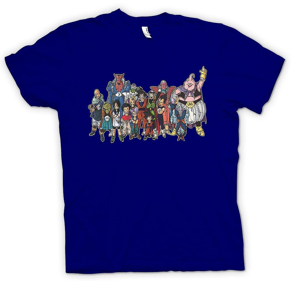 Camiseta para hombre - Dragon Ball Z banda - los niños TV