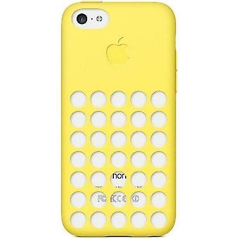 5 Pack -Apple Protective Silicone Case for Apple iPhone 5C - Yellow