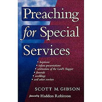 Prédication pour Services spéciaux