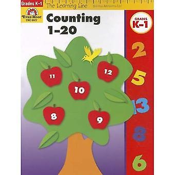 Räkna 1-20, årskurs k-1 (lärande linje)