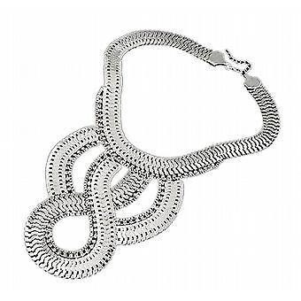 Waooh - halsband med länkar och strass Guot