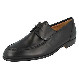 Mens Grenson Formal Shoes Verona 7779-01 Black Size UK 7FX