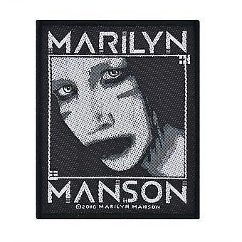 Marilyn Manson Villain Woven Patch