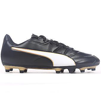 بوما Classico ج الثاني FG شركة الأرض لكرة القدم رجالي التمهيد الأحذية/الذهب الأسود
