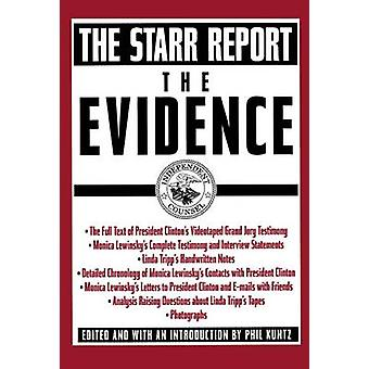 The Evidence The Starr Report by Pocket Books