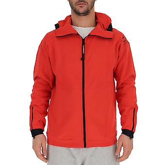 C.p. Company Red Polyester Outerwear Jacket