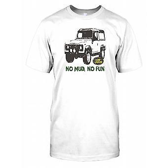 Land Rover - No Mud No Fun Kids T Shirt