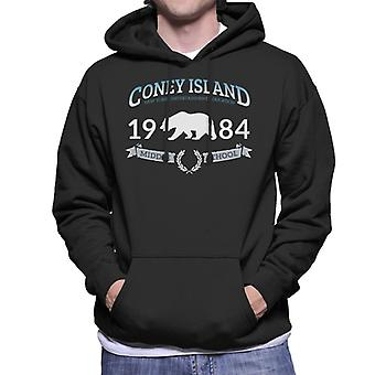 Coney Island 1984 Middle School Men's Hooded Sweatshirt