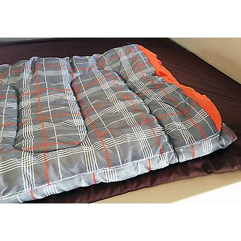 OLPRO HUSH Sleeping Bags Patterned Two Sleeping Bags Zipped Together 190 x 150cm