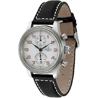 Zeno-watch montre chronographe rétro de NC Bicompax 9557BVD-f2