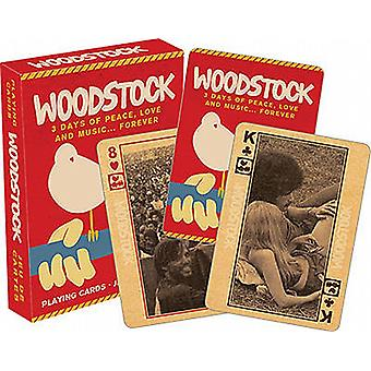 Woodstock Festival set of playing cards   (nm 52281)