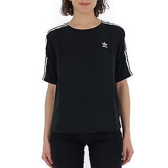 Adidas Black Cotton T-shirt