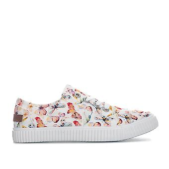 Womens Blowfish Cablee pumper i off white flutter print