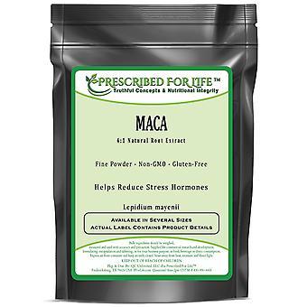 Maca - 4:1 Natural Yellow Peruvian Root Extract Powder (Lepidium meyenii)
