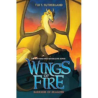 Wings of Fire #10 - Darkness of Dragons by Sutherland -Tui -T - 978054