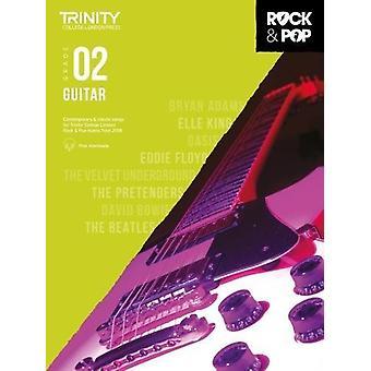 Trinity Rock & Pop 2018 Guitar Grade 2 - 9780857366498 Book