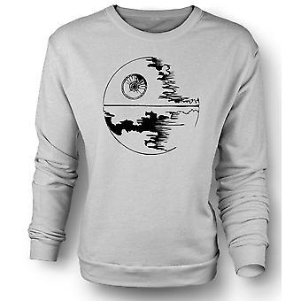 Womens Sweatshirt Death Star Under Construction