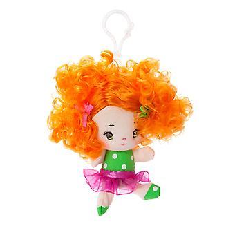 Aurora World 4-Inch Cutie Curls Abby Backpack Clip