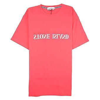 Stone Island Graphic Six T-shirt Coral V0036