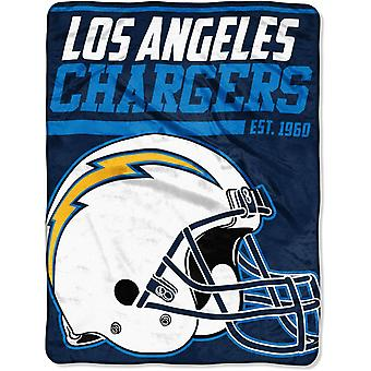 Northwest NFL Los Angeles Chargers Micro Plush Blanket 150x115