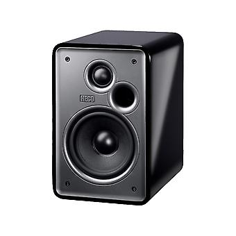 Heco music colors 100, 2-way Bookshelf speaker design, * black *, 1 of pair, new goods