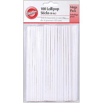 Lollipop Sticks 100 Pkg 6
