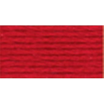 Dmc Six Strand Embroidery Cotton 100 Gram Cone Coral Red Very Dark 5214 817