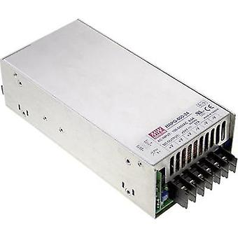 AC/DC PSU module (+ enclosure) Mean Well HRP-600-15 15 Vdc 43 A