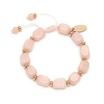 Balletto di Lola Rose Angel Bracciale quarzo rosa