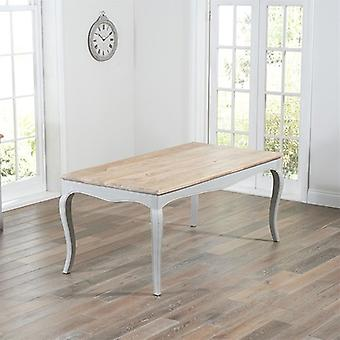 Mark Harris Sienna Shabby Chic Grey 175cm Dining Table