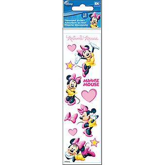 Disney Slims dimensionnelle coeurs autocollants-Minnie E5140016