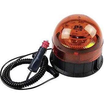 Emergency light 12 V, 24 V Magnetic base, Suction cup, Screw mount Orange Berger & Schröter