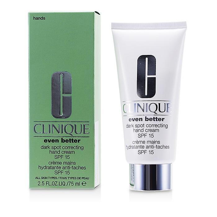 Clinique Even Better Dark Spot Correcting Hand Cream SPF 15 75ml/2.5oz