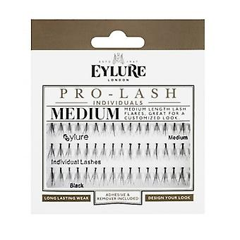Lashes Eylure individuales Negro Medio