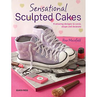 Search Press Books-Sensational Sculpted Cakes SP-11976