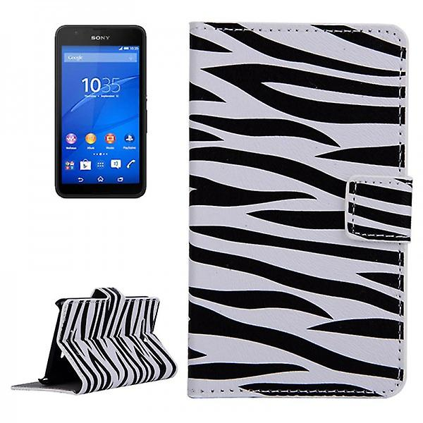 Pocket wallet premium pattern 7 for Sony Xperia E4G