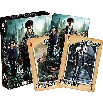 Harry Potter Deathly Hallows 2 set van 52 speelkaarten (+ jokers) (nm 52422)