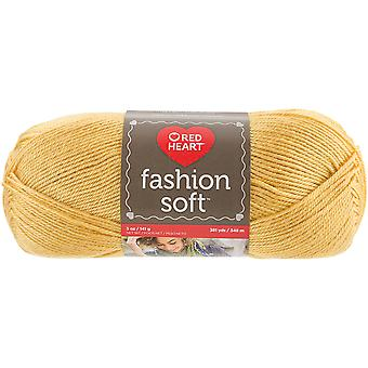 Red Heart Fashion Soft Yarn-Flax E845-4200