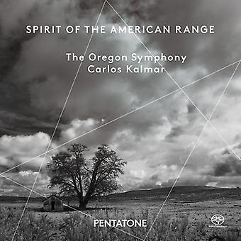 Antheil / Piston / Copland / Kalmar - Spirit of the American Range [SACD] USA import