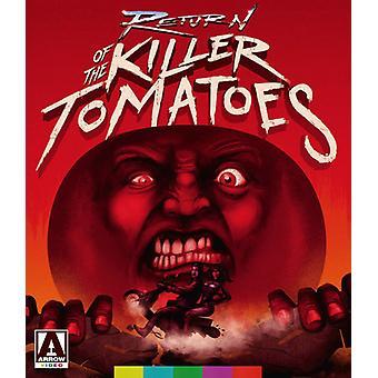 Tilbagelevering af Killer tomater [Blu-ray] USA importen