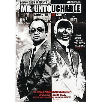 Mr Untouchable [DVD] USA import